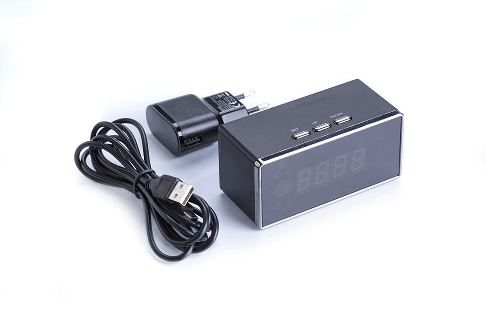 Detektivska mikro kamera u alarmnom satu-4